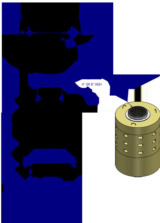 Genest Precast Perforated Manholes
